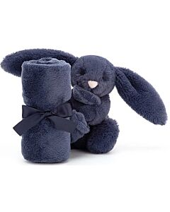 Jellycat: Bashful Navy Bunny Soother (34cm)