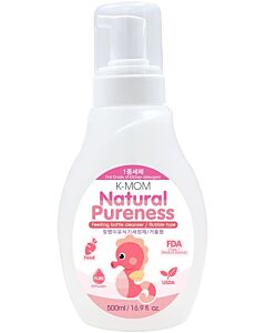K-Mom - Natural Pureness Baby Bottle Cleanser Bubble Type (Foam Pump Bottle) (500ml) - 30% OFF!