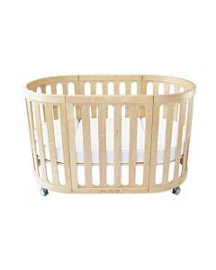 Babyhood Kaylula Sova Cot 5-in-1 Classic (Beech) with FREE Breathe Eze Mattress [20% OFF!!]
