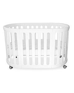 Babyhood Kaylula Sova Cot 5-in-1 Classic (White) with FREE Breathe Eze Mattress [20% OFF!!]
