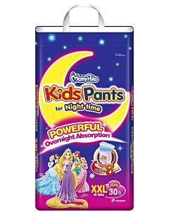 MamyPoko Kids Pants For Night Time Girl XXL30 (15-25kg)