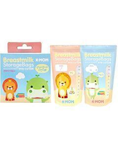 K-Mom Breastmilk Storage Bags 200ml - 20pcs