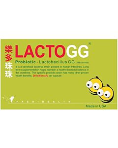 LACTOGG Probiotics 30s - MADE IN USA (A Box Of 30 Capsules)