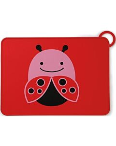 Skip Hop: Zoo Fold & Go Silicone Kids Placemat - Ladybug - 15% OFF!!