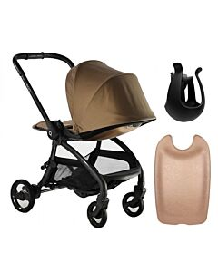 Egg® Quail Stroller: Latte On Chasis (FREE Backpanel + Cup holder) - 17% OFF!!