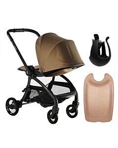Egg® Quail Stroller: Latte On Chasis (FREE Backpanel + Cup holder) - 25% OFF!!