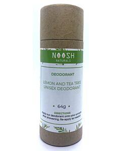 Noosh Naturals: Lemon and Tea Tree Unisex Deodorant 64g (Large) - 4% OFF!