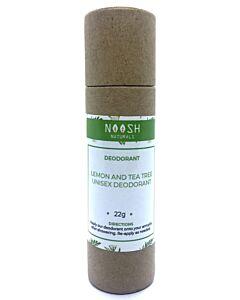 Noosh Naturals: Lemon and Tea Tree Unisex Deodorant 22g - 8% OFF!
