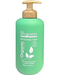 Little Innoscents: Organic Hair & Body Wash 500ml - Spearmint - 10% OFF!!