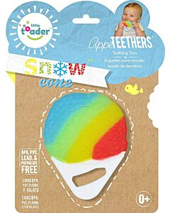 Little Toader: Appe Teethers - Soft Silicone Food Shaped BPA Free (Snow Cone) - 20% OFF!!