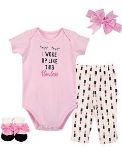 Little Treasure: Gift Set - Newborn Baby 4pc Layette Set (0-6mths) (77008) - 20% OFF!!