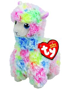 Ty Beanie Boos: Lola - Multicoloured Llama (Regular)