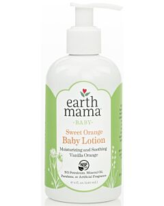 Earth Mama Baby Sweet Orange Baby Lotion 240ml