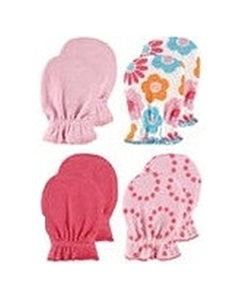 Luvable Friends: Scratch Mittens (Pink) - 4 Pairs (34711) - 20% OFF!!
