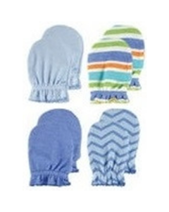 Luvable Friends: Scratch Mittens (Blue) - 4 Pairs (34711) - 20% OFF!!