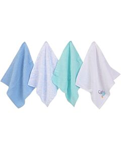 Luvable Friends: Washcloths - 4pc (Woven Terry 05294) - 32% OFF!!