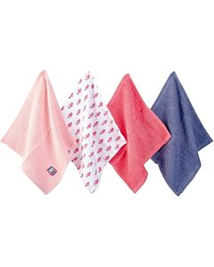 Luvable Friends: Washcloths - 4pc (Woven Terry 57232) - 32% OFF!!