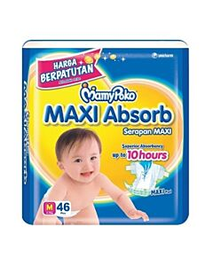 MamyPoko Maxi Absorb M46 (6-11kg) - 19% OFF!!