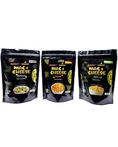 Groomy x Babydash: 3-Way Mac & Cheese | Set (For 8+ Months)