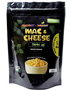 Groomy x Babydash: Instant Mac & Cheese | Herbs (For 8+ Months)