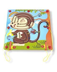 Funny Kid's: Animal Magnetic Maze - Monkey - 10% OFF!!