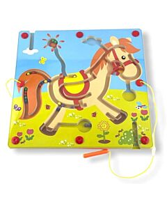 Funny Kid's: Animal Magnetic Maze - Pony - 10% OFF!!
