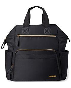 Skip Hop: Main Frame Wide Open Diaper Backpack - Black - 15% OFF!!