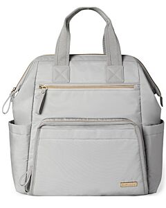 Skip Hop: Main Frame Wide Open Diaper Backpack - Cement - 15% OFF!!