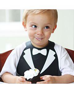 Make My Day: Baby Bib - Tux Black/White - 20% OFF!!