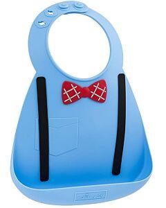 Make My Day: Baby Bib - Little Genius Scholar Blue - 20% OFF!!