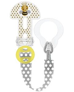 MAM Clip It! Baby Pacifier Holder - White - 10% OFF!!
