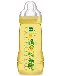 MAM Easy Active Baby Bottle 330ml/11oz - Teat 3 (Yellow)