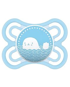 MAM Pacifier - PERFECT | 0+ Months | Single - Light Blue