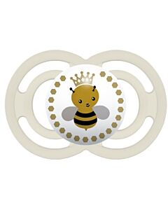 MAM Pacifier - PERFECT   6+ Months   Single - Ivory - 10% OFF!!