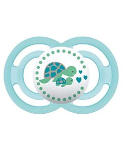 MAM Pacifier - PERFECT   16+ Months   Single - Turquoise - 10% OFF!!