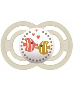 MAM Pacifier - PERFECT   16+ Months   Single - Ivory - 10% OFF!!