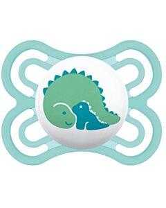 MAM Pacifier - PERFECT Newborn pacifier  2-6 Months   Single - Light Blue