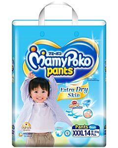 MamyPoko Extra Dry Skin Pants BOY XXXL14 (18-35kg) - 46% OFF!!
