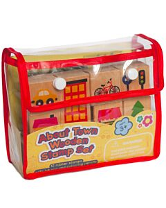 Meadow Kids: About Town Wooden Stamp Set - 50% OFF