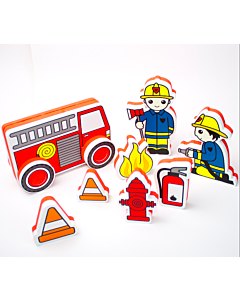 Meadow Kids: Build a Fire Engine and Characters - 50% OFF