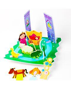 Meadow Kids: Castle Floating Activity Scene - 50% OFF
