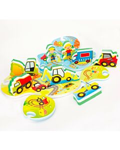 Meadow Kids: Puzzle and Play Construction Site - 38% OFF!!