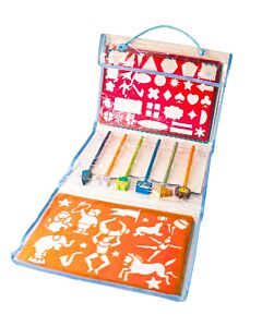 Meadow Kids: Stencils and Pencils Blue - 30% OFF!
