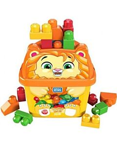 Mega Bloks: Build N' Learn First Builders 25pcs - Laughing Lion - 15% OFF!!