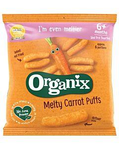 Organix Finger Foods Melty Carrot Puffs 20g (6+ Months)