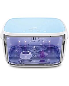 59S UVC LED Baby Bottles Sterilizer Box T5 [with battery] (Blue) - 20% OFF!!