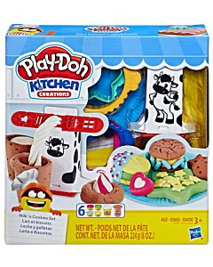 Play-Doh: Kitchen Creations - Milk 'n Cookies Set (3 Years Old & Above) - 10% OFF!!