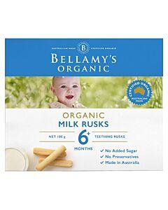 Bellamy's Organic Toothiepegs 100g (Milk Rusks)