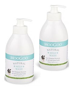 MooGoo: Milk Wash 500ml (Value Twin Pack) - 13% OFF!
