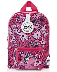 BabyMel: Mini Backpack & Safety Harness (1-4 Years) | Floral Pink - 15% OFF!!